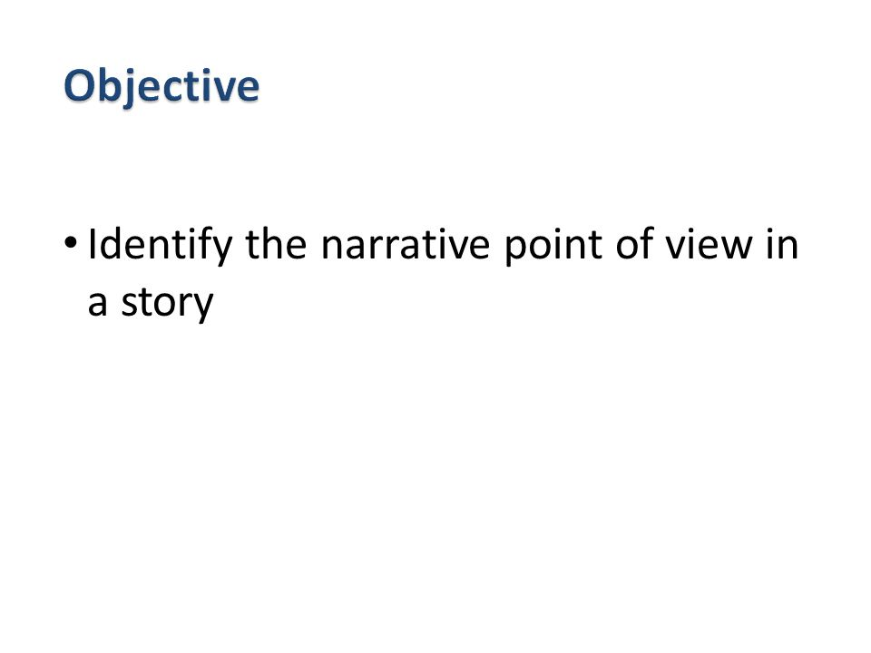 How does each individual's view contribute to his understanding of the situation.