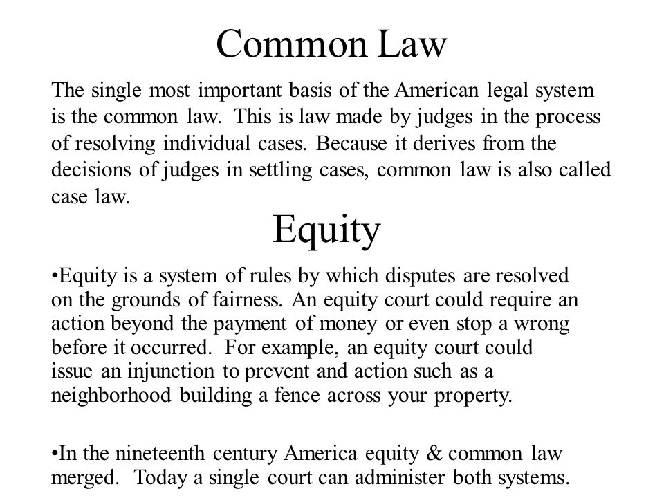 Equal Justice Under the Law It means every person, regardless of wealth, social status, ethnic group, gender, or age, is entitled to the full protection of the law.