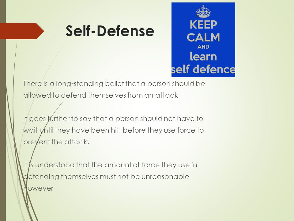 The Insanity Defense This defense is based on the presumption that people are of sound mind and capable of knowing what they are doing is right or wrong.