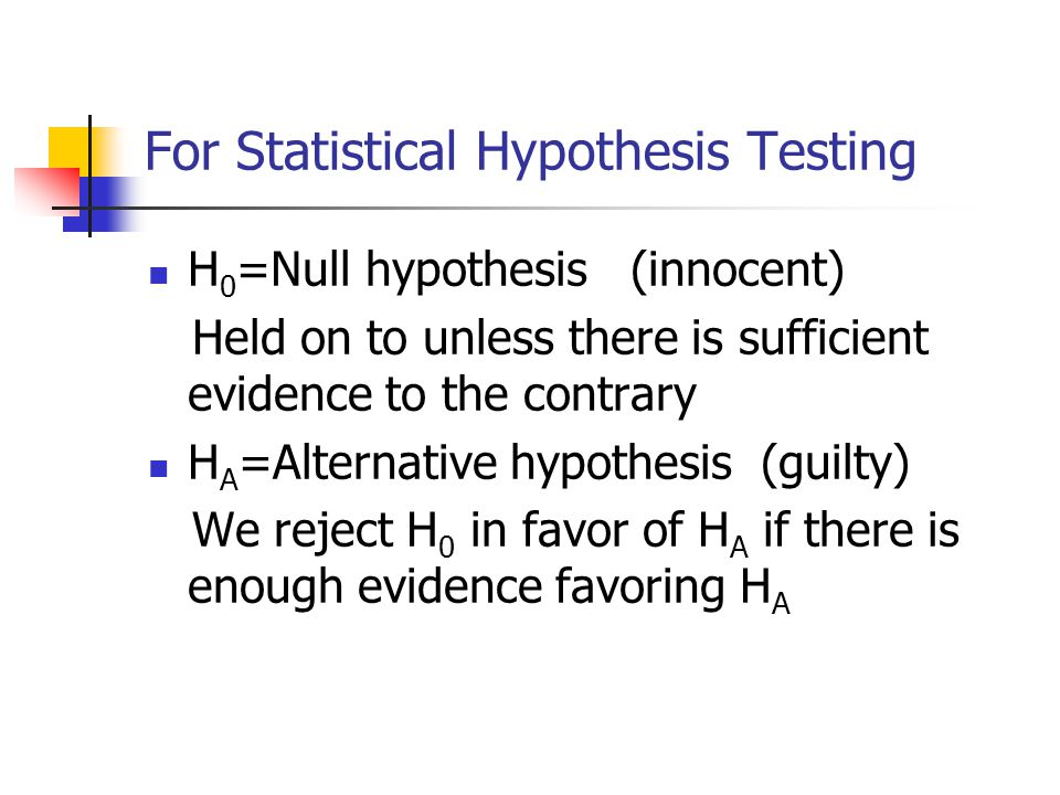 5 steps summary 1.hypothesis statement 2. Specify level of significance  3.