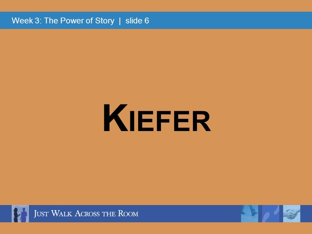 Week 3: The Power of Story | slide 17 BeforeAfter Striving