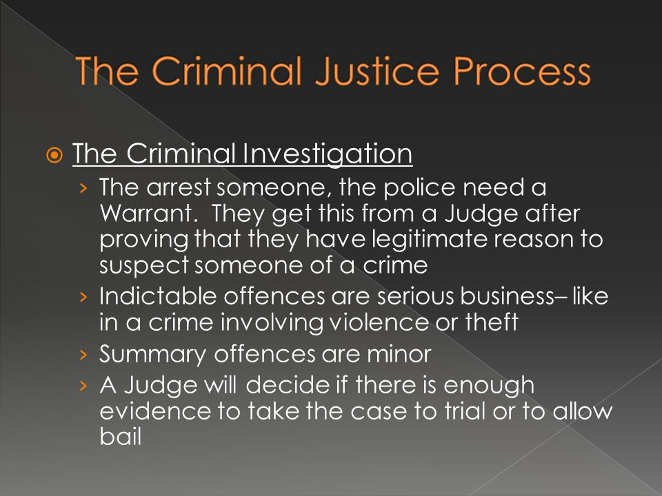  The Courts › A trial can be before a judge and jury or just a judge (the defendant gets to choose) › A jury is made up of 12 peers.