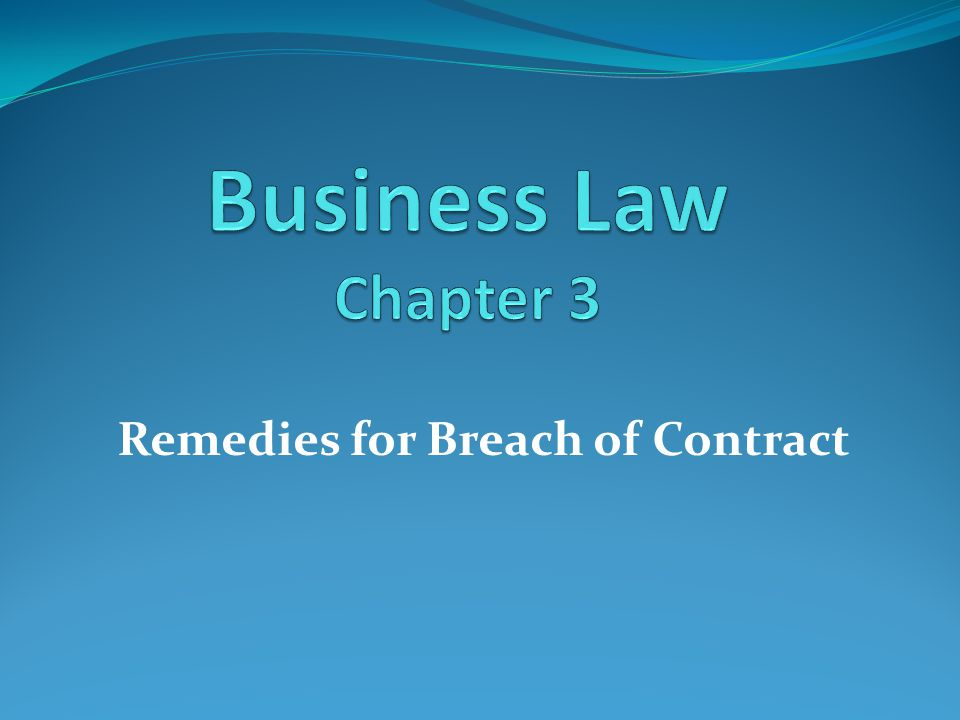 When a party breaks the contract by refusing to perform his promise the breach of contract takes place.