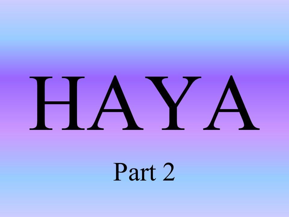 HAYA Part 2