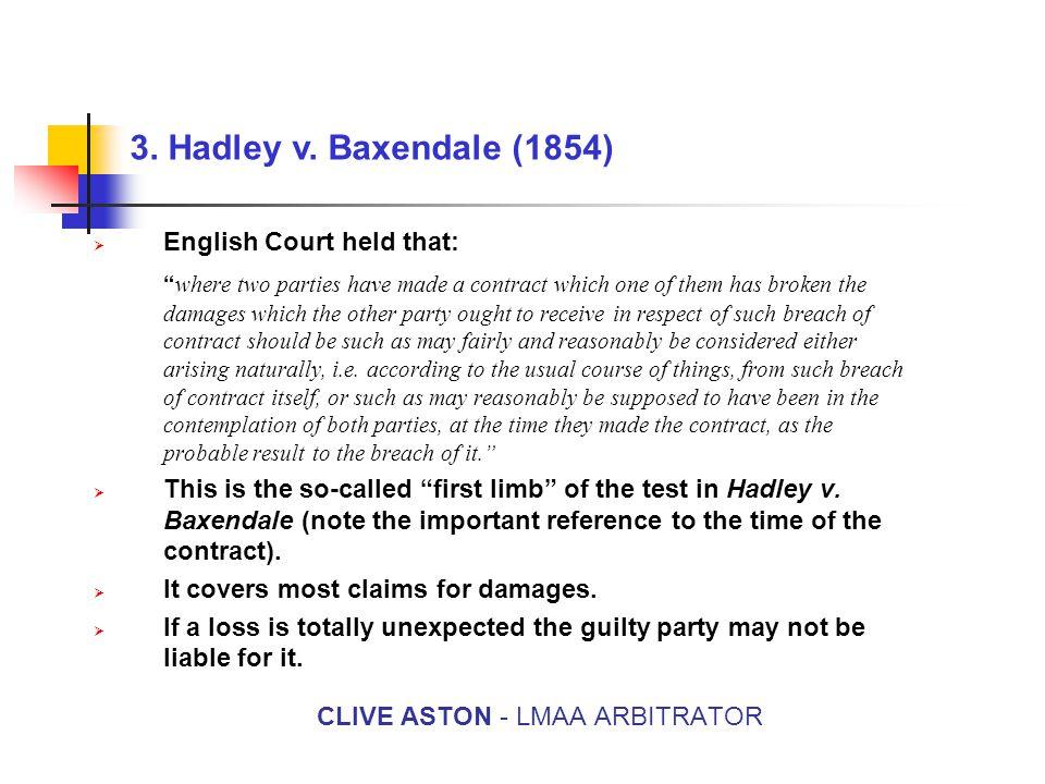 3. Hadley v.