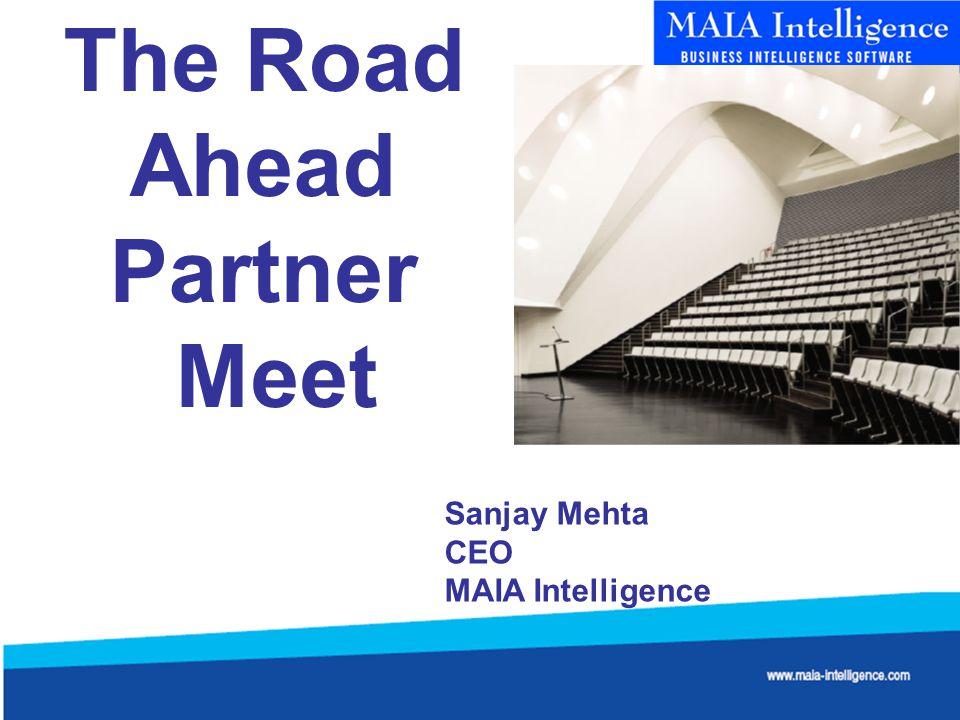 The Road Ahead Partner Meet Sanjay Mehta CEO MAIA Intelligence
