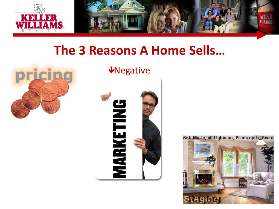 The 3 Reasons A Home Sells…  Negative