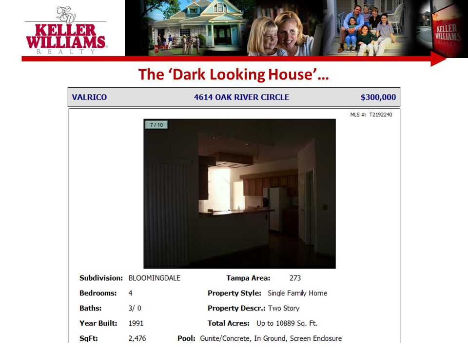 The 'Dark Looking House'…