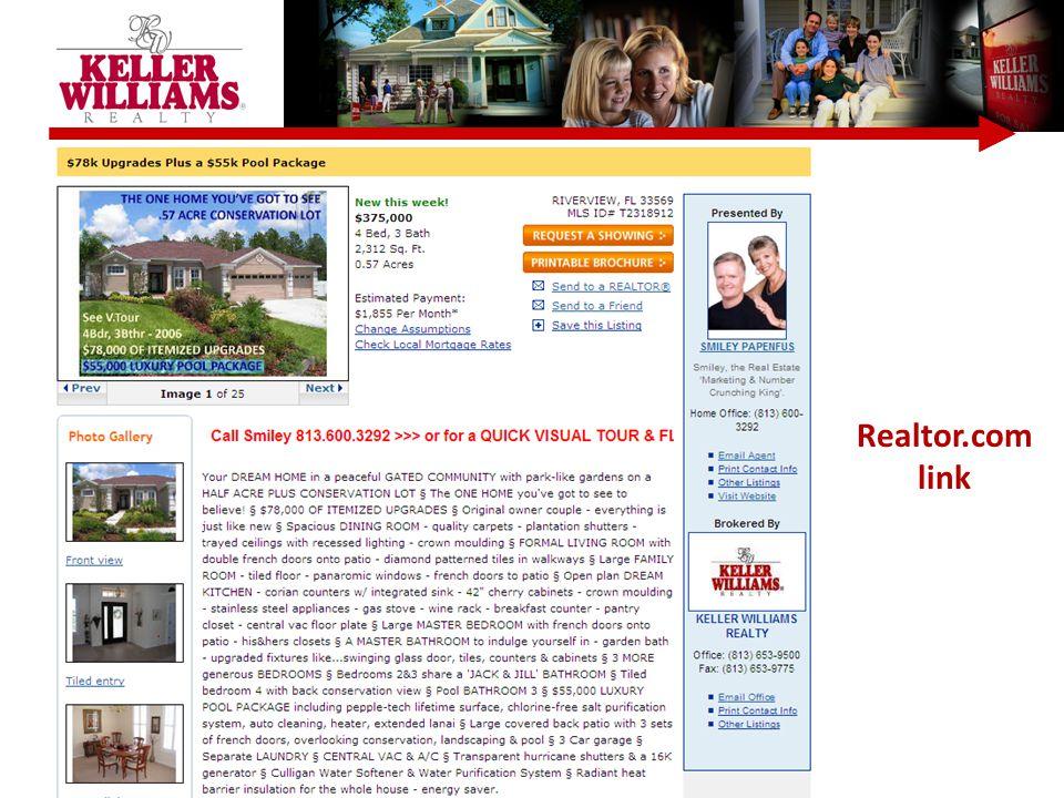 Realtor.com link