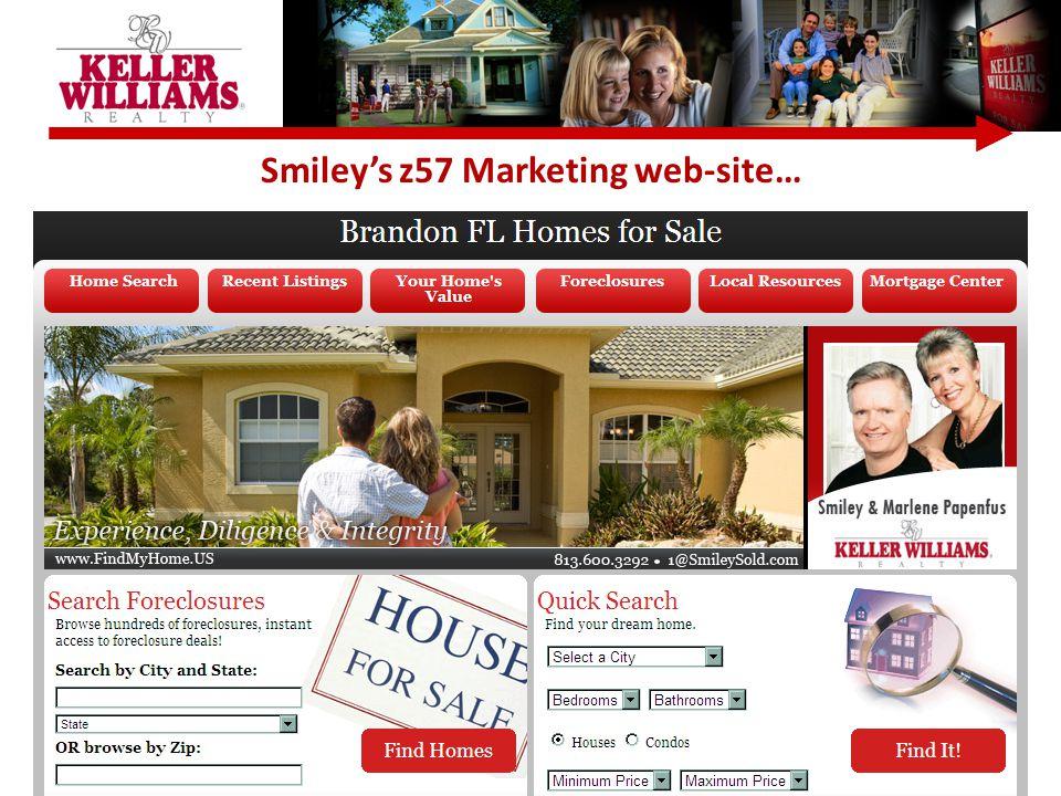 Smiley's z57 Marketing web-site…