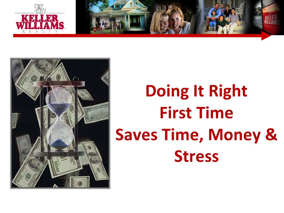 Doing It Right First Time Saves Time, Money & Stress