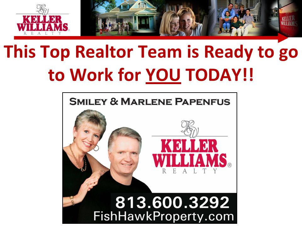 This Top Realtor Team is Ready to go to Work for YOU TODAY!!
