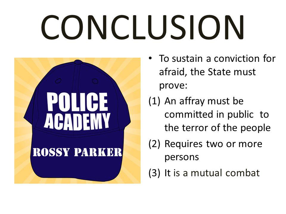 AFFRAY www.RossyParker.com