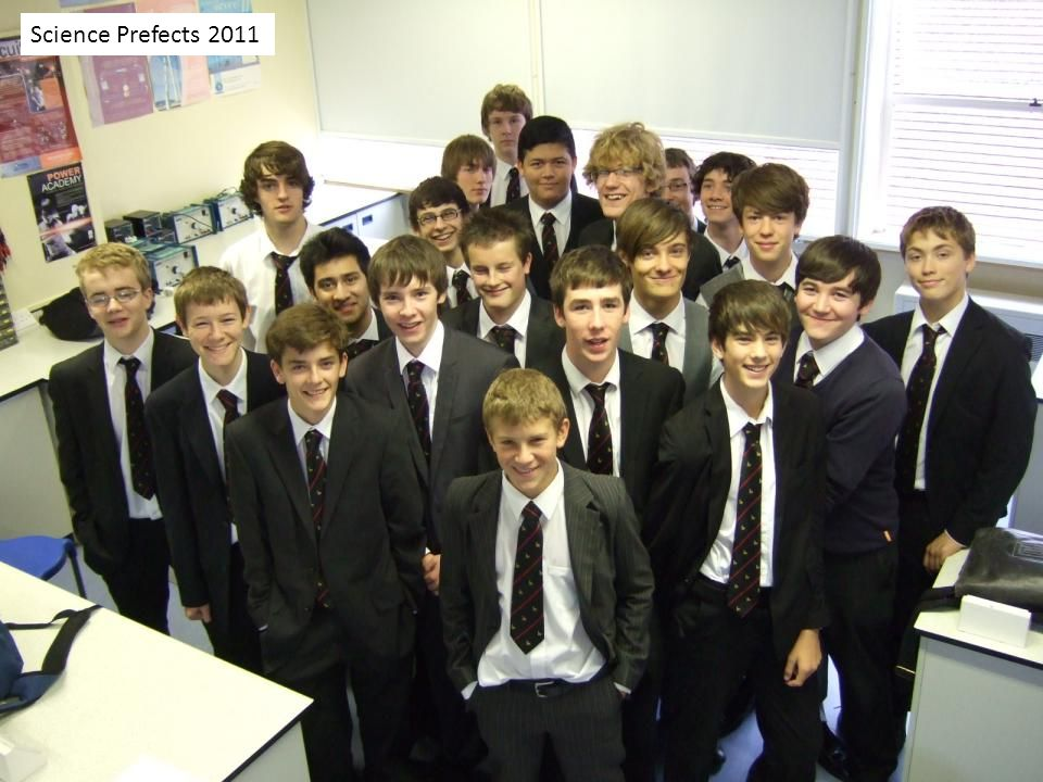 Science Prefects 2011