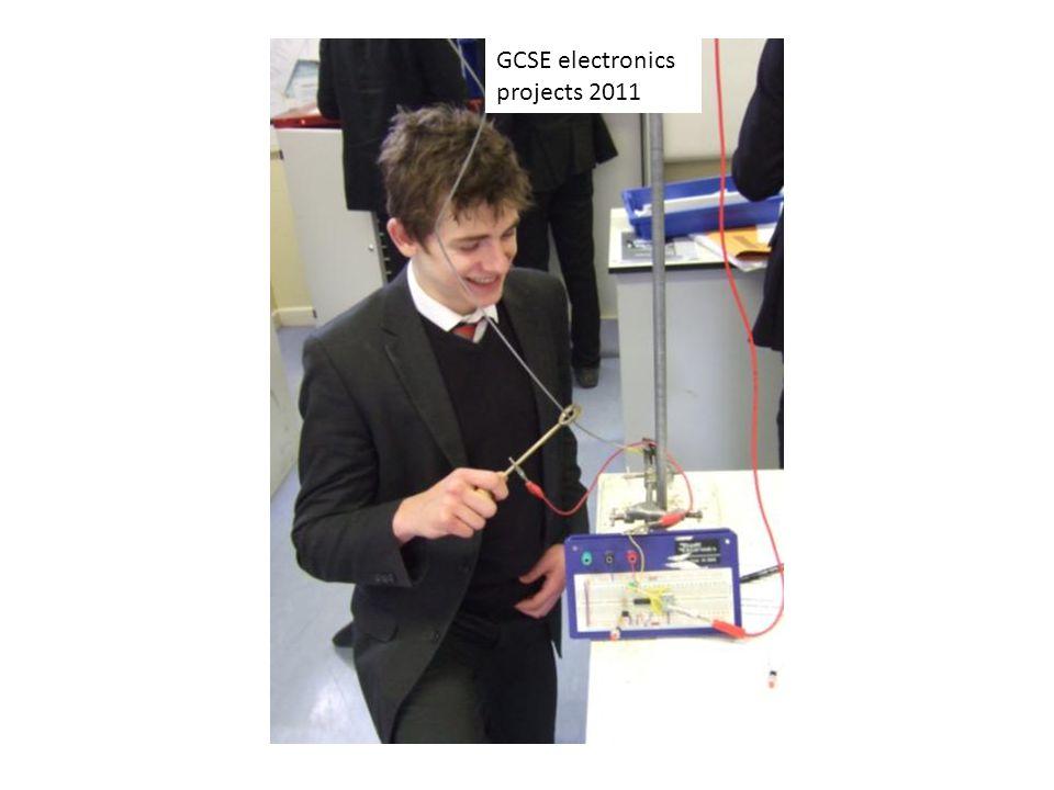 GCSE electronics projects 2011
