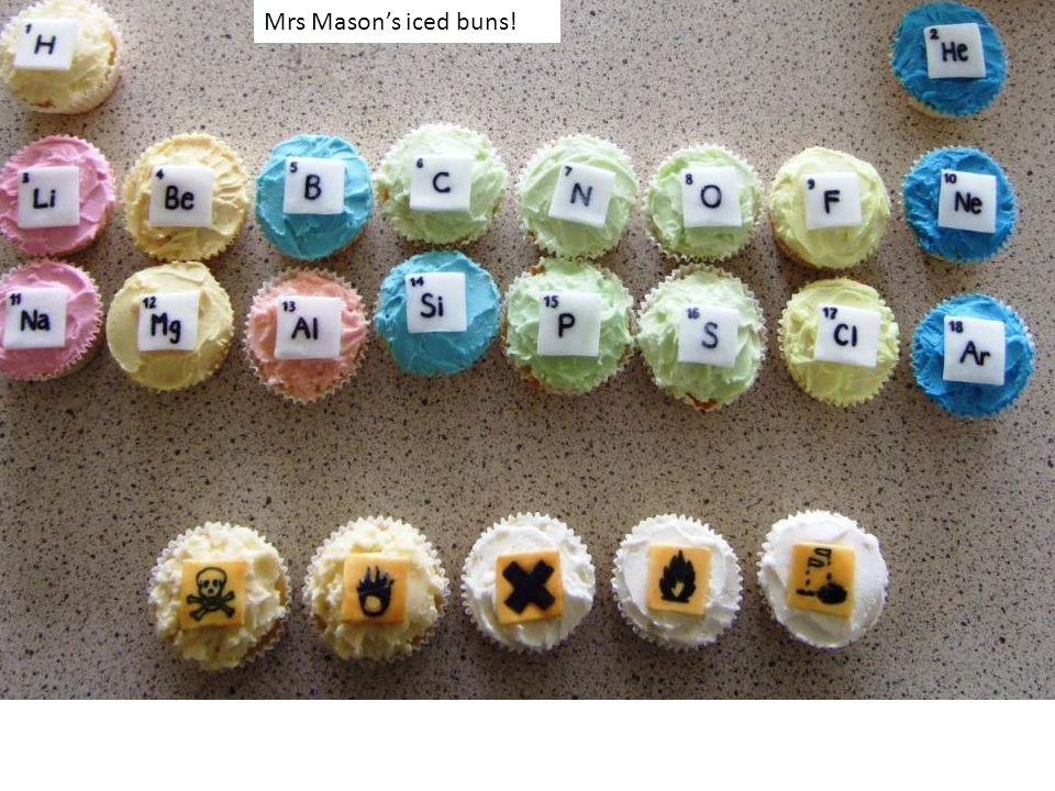 Mrs Mason's iced buns!