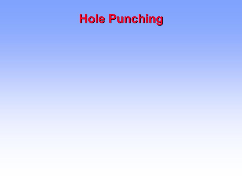 Hole Punching