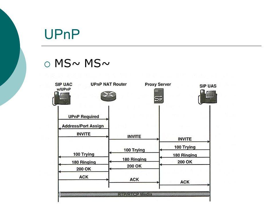 UPnP  MS~ MS~