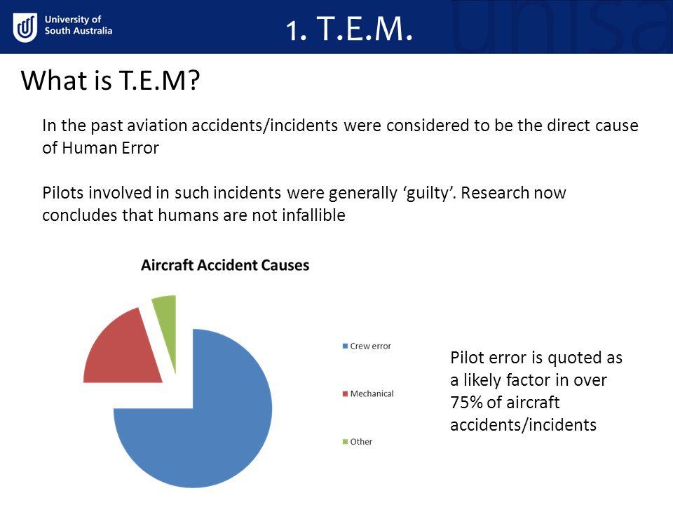 1.T.E.M. What is T.E.M.