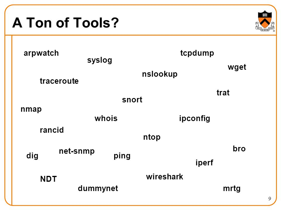 A Ton of Tools.