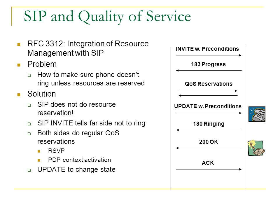 Third Party Call Control (3pcc): RFC 3725 RTP INVITE no SDP 200 SDP A INVITE SDP A 200 SDP B ACK SDP B 1 2 3 4 5 6