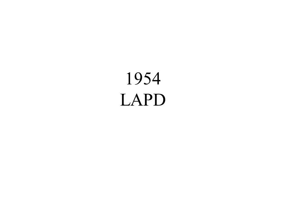 1954 LAPD