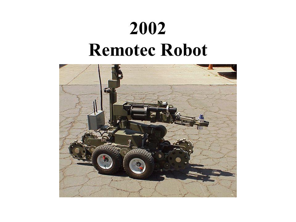 2002 Remotec Robot