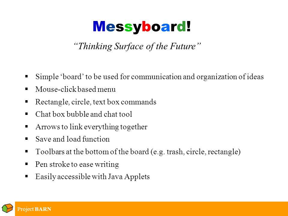 Messyboard!Messyboard.
