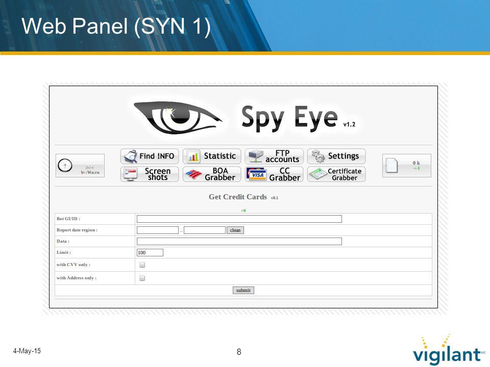 4-May-15 8 Web Panel (SYN 1)