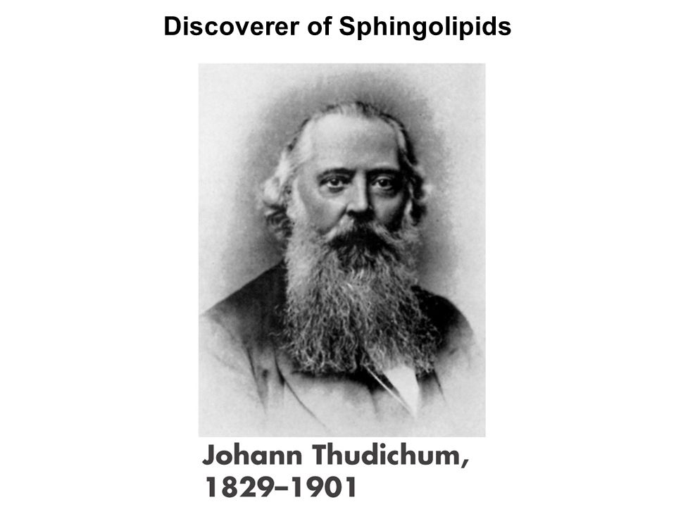 Discoverer of Sphingolipids