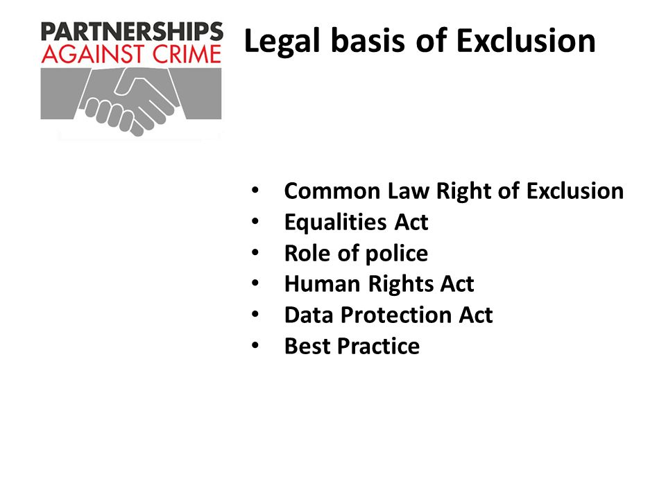 Freedom of Information Act NOT PROTECTIVELY MARKEDPublication Scheme Y/N: Y Title: Partnerships Against Crime Presentation (Radio Networks) 2012 Summary: As Above Branch / OCU: TP Capability & Business Support Date created: 22/10/12Review date: N/A Version: 1.0 Author: Roy Smith (231047) TOTAL POLICING