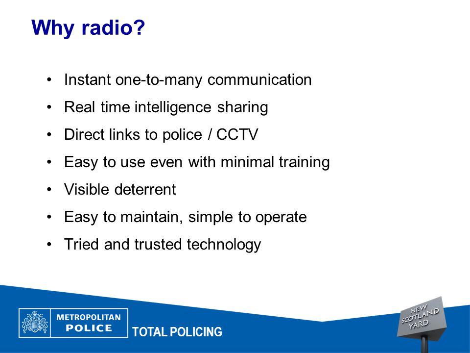 Why radio.