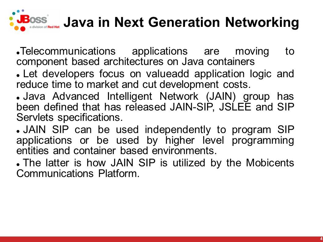 5 Plan Introduction JSLEE SIP-Servlets JSLEE/SIP-Servlets interoperability Future work