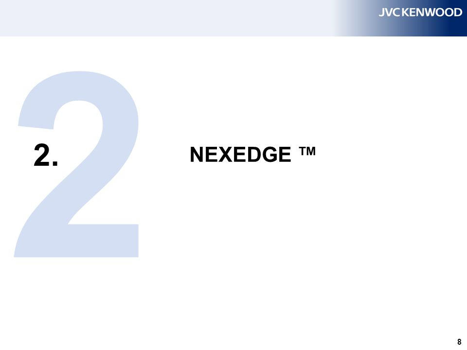 19 NEXEDGE – NXDN modulation  Modulation type: 4FSK (4 levels Frequency Shift Keying).