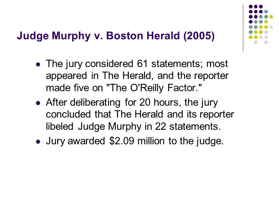 Judge Murphy v.