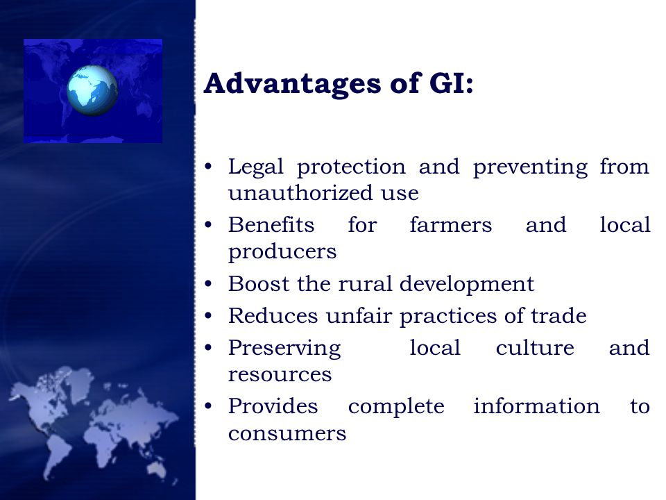 How are GIs protected.