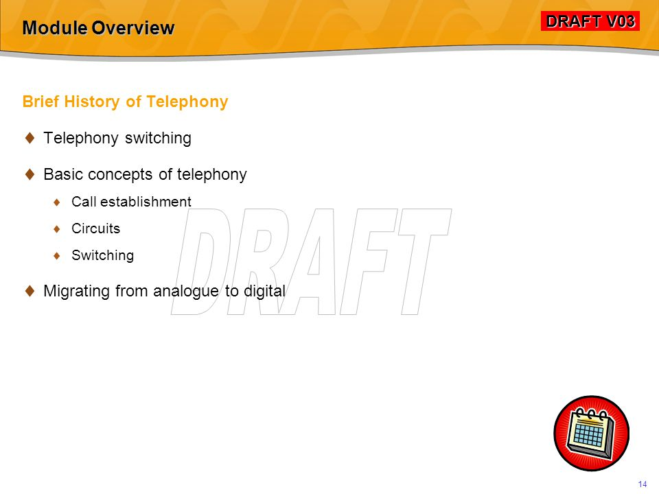 Brief History of Telephony