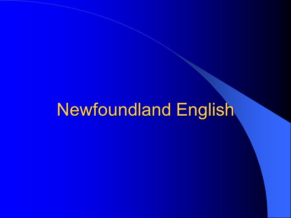Newfoundland English