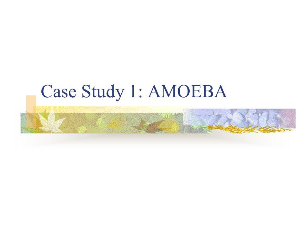 Case Study 1: AMOEBA