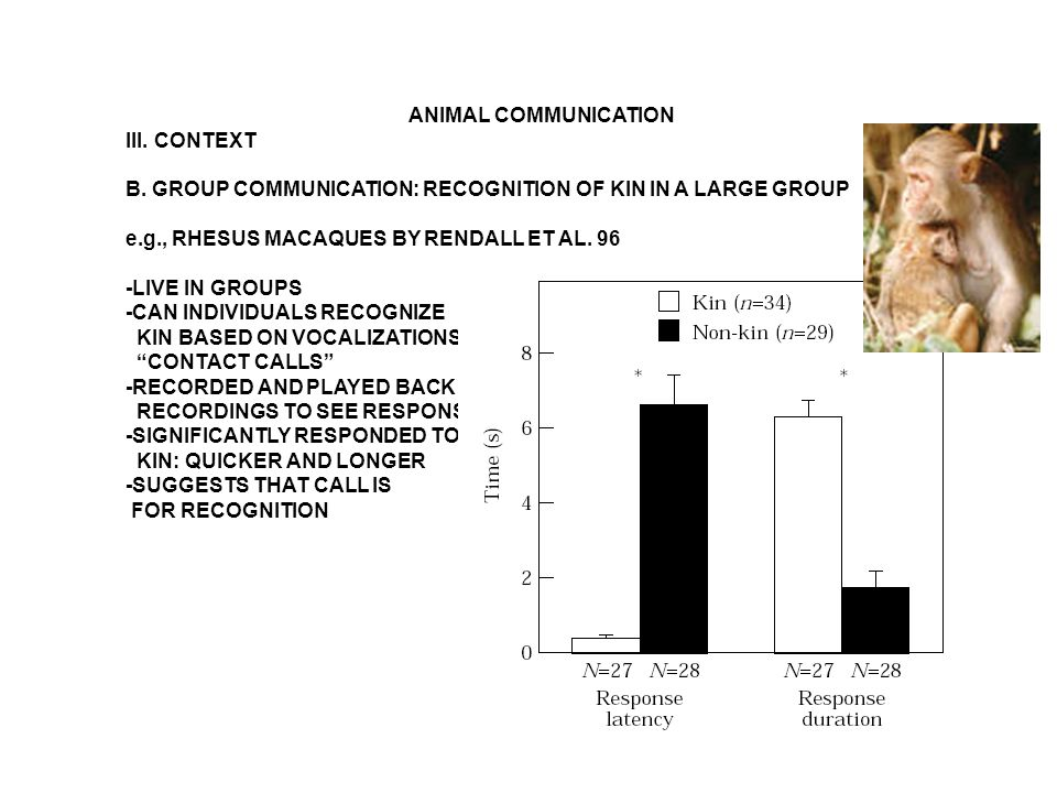ANIMAL COMMUNICATION V.GENERAL OVERVIEW IN VERTEBRATES: PREDOMINANT MODES OF COMMUNICATION 5.