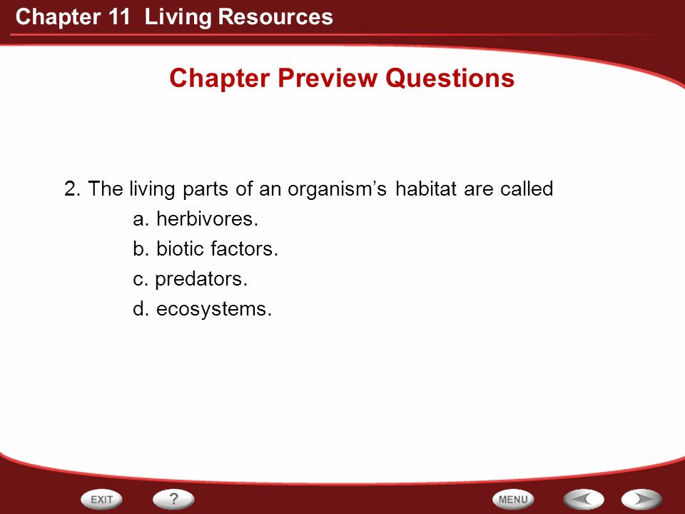 Chapter 11 Living Resources How can people manage fisheries for a sustainable yield?
