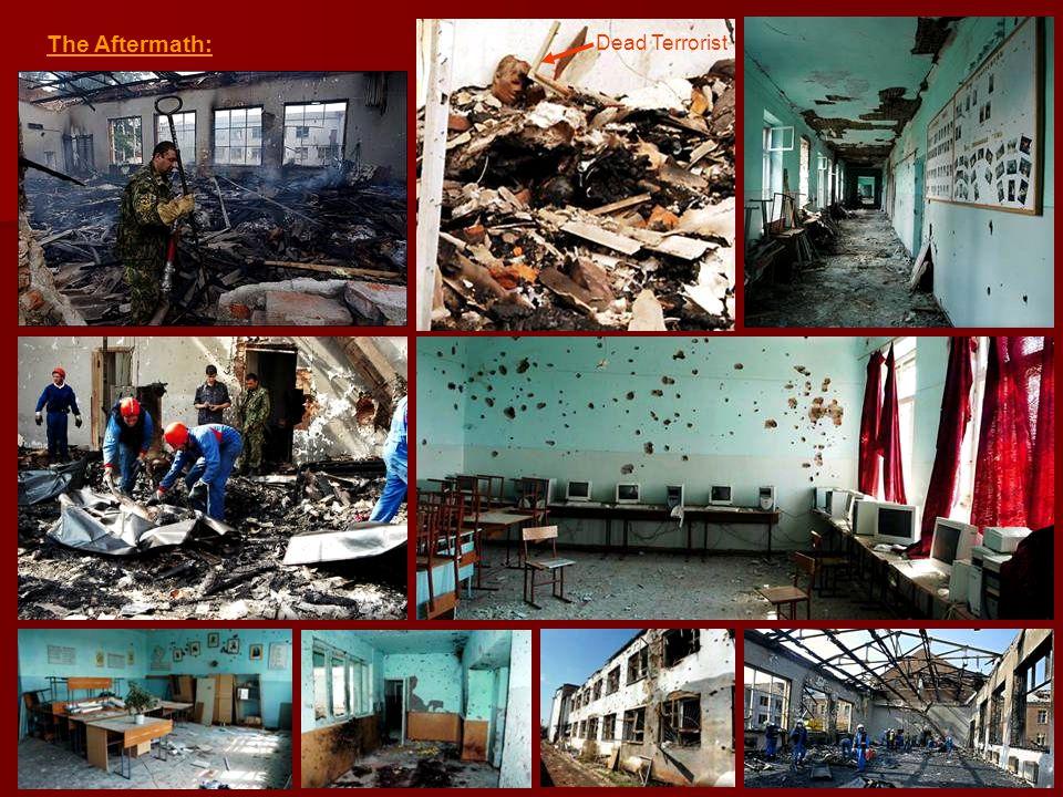 The Aftermath: Dead Terrorist