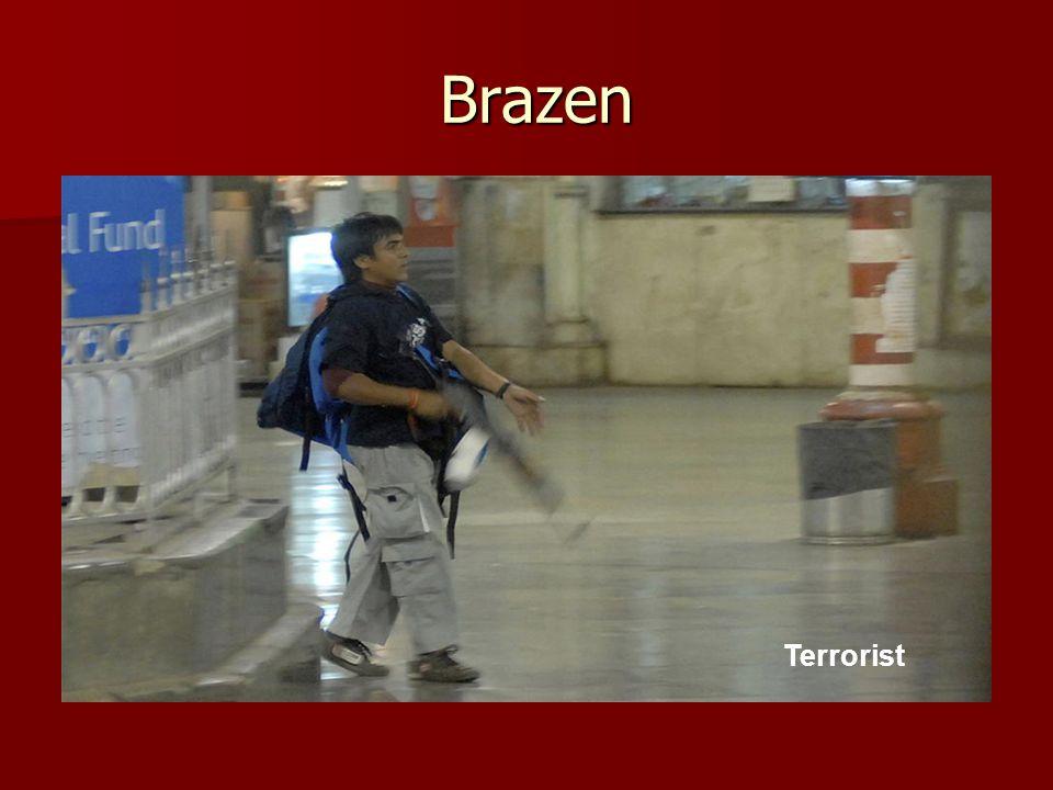 Brazen Brazen Terrorist