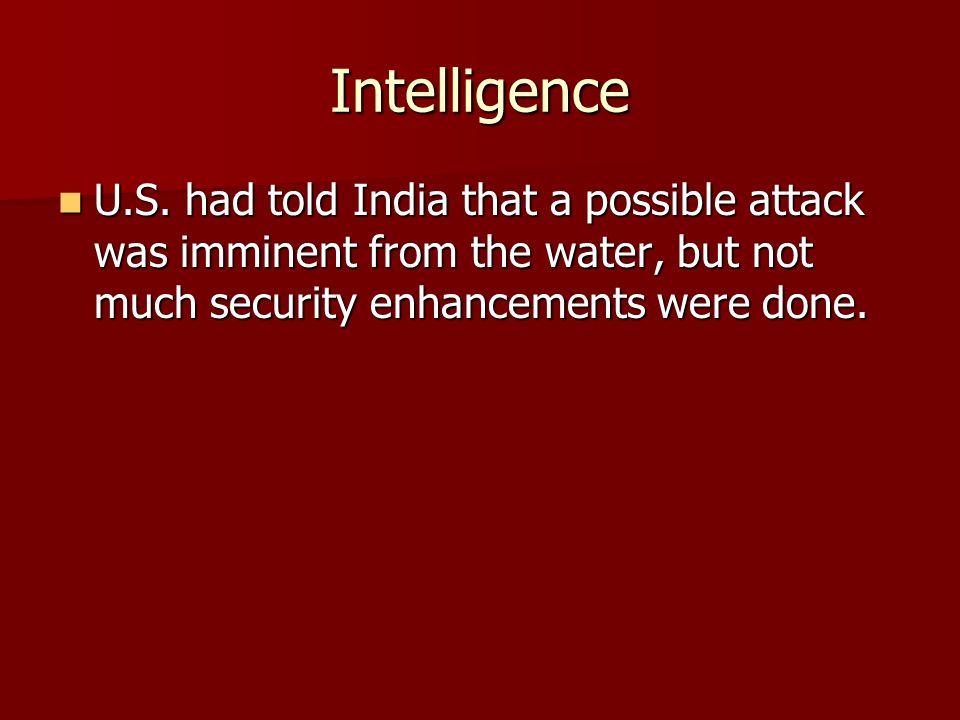Intelligence U.S.