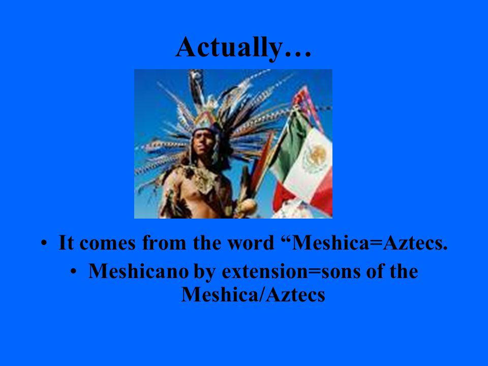 "What defines the ""Chicano?"" 1.) Chico/chiquito=little ones or minority? 2.) Méjico-Americanos=Mexican Americans? 3.) Chinese + Mexicans = Chicanos? 4."