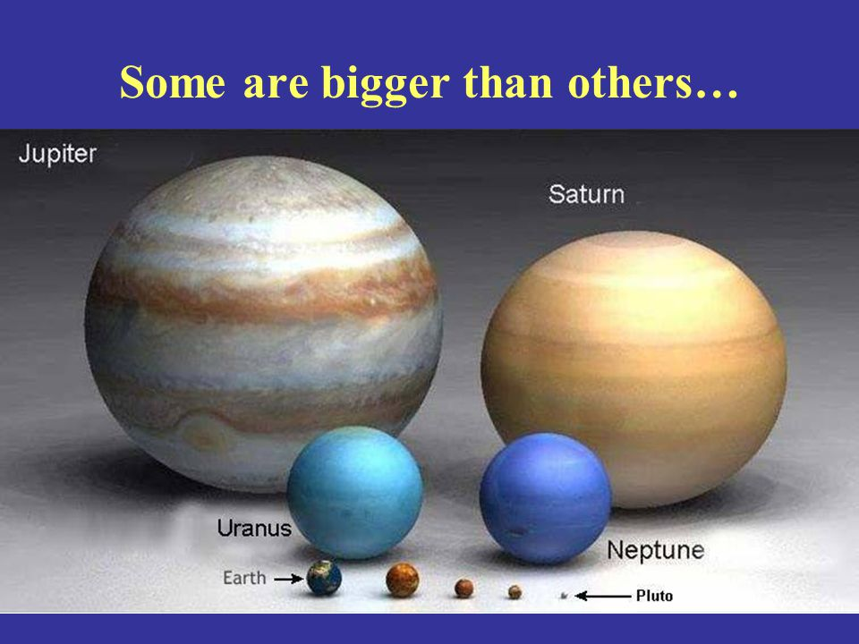 Even within the same Solar System, not all planets look the same.