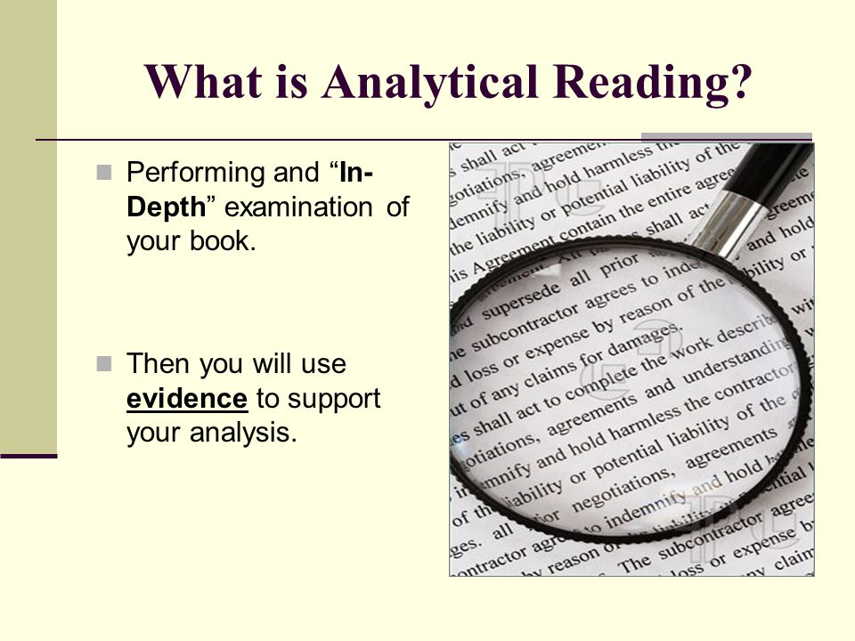 Analytical Lenses You can choose different LENSES to analyze a book.