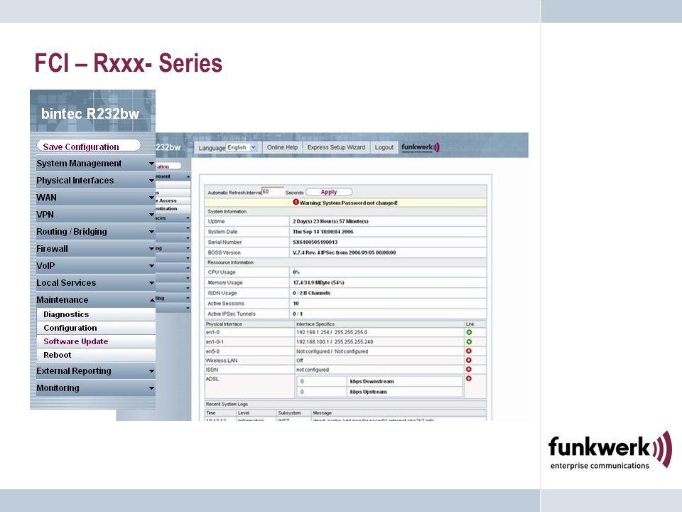 FCI – Rxxx- Series
