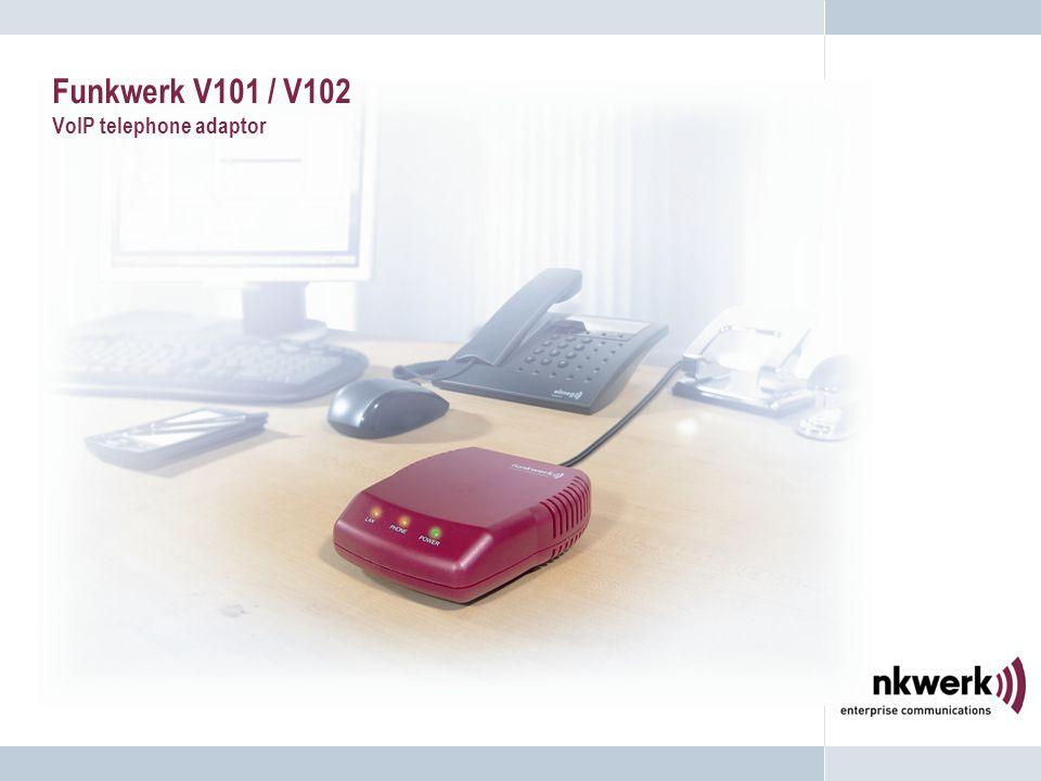 Funkwerk V101 / V102 VoIP telephone adaptor