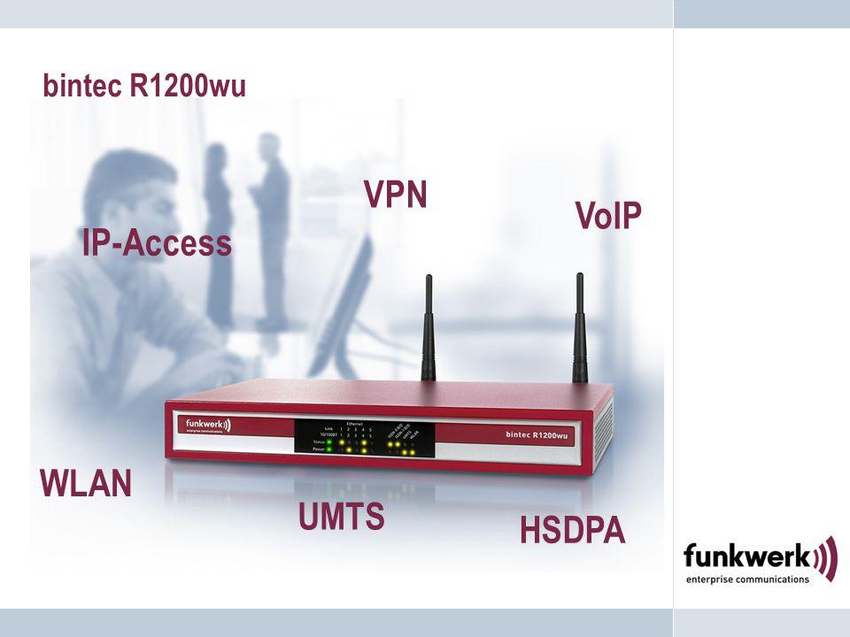 bintec R1200wu WLAN VPN VoIP IP-Access UMTS HSDPA